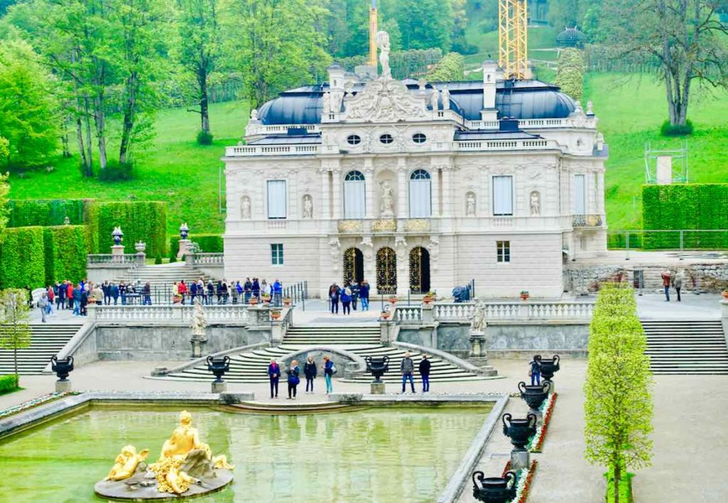 Schloss Linderhof in Bayern:Lieblingsschloss vom Märchenkönig Ludwig II