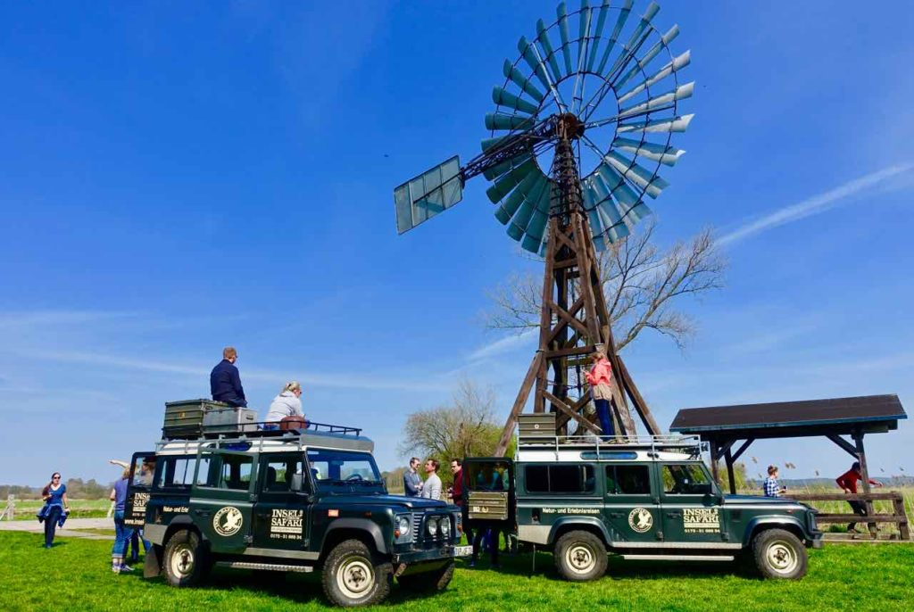 Usedom, Insel-Safari mit Landrovern Copyright Peter Pohle