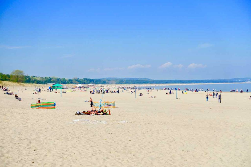 Usedom: Strand von Swinemünde