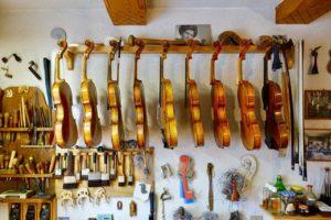 Werkstatt von Geigenbaumeisterin Maria Sndner in Mittenwald