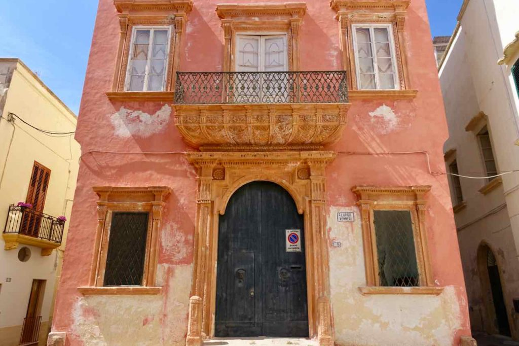 Haus in Gallipoli in Apulien, Italien