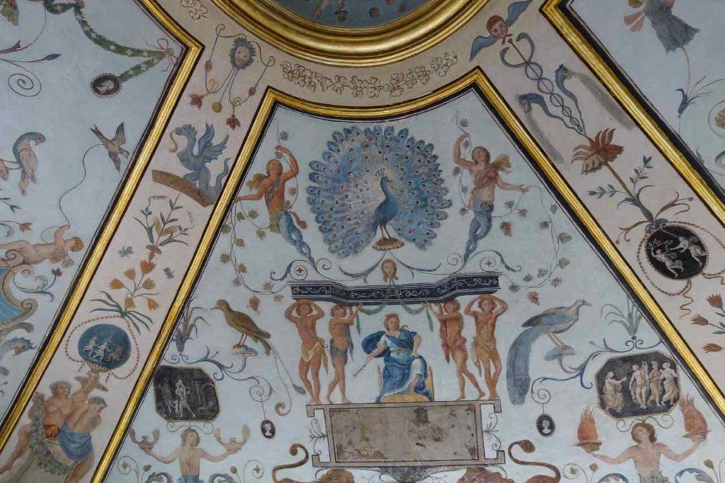 Apotheke im Kloster von Trisulti - Deckenausschnitt