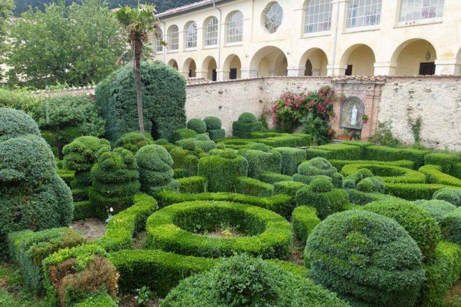 Kloster von Trisulti, Klostergarten