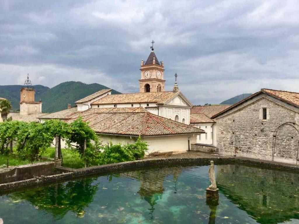 Kloster von Trisulti in der Commune Collepardo, Außenansicht