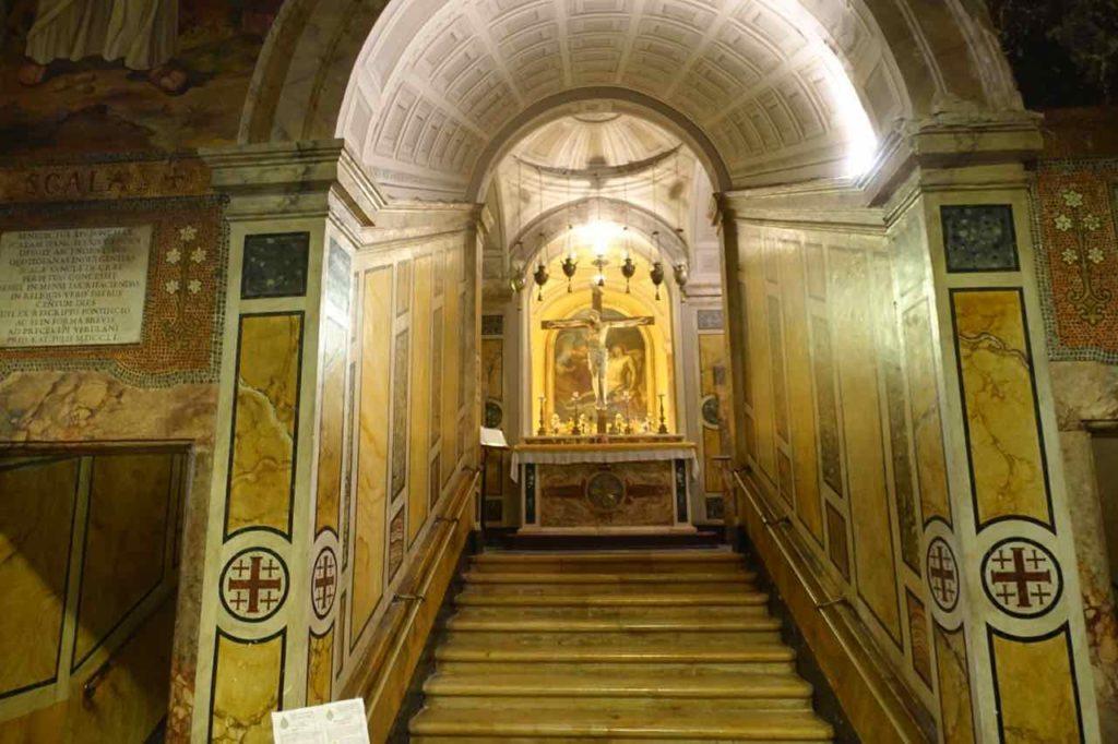 Veroli (Latium): Scala Santa in der Basilica di S. Maria Salome