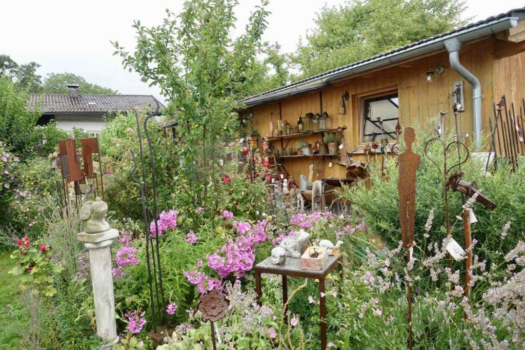 Chiemsee Tagesausflug: Garten auf der Fraueninsel