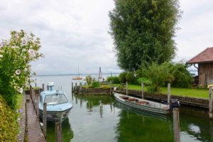 Chiemsee: Fraueninsel, Privater Bootsanleger