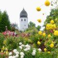 Chiemsee Tagesausflug: Fraueninsel mit Campanile und Blumengarten