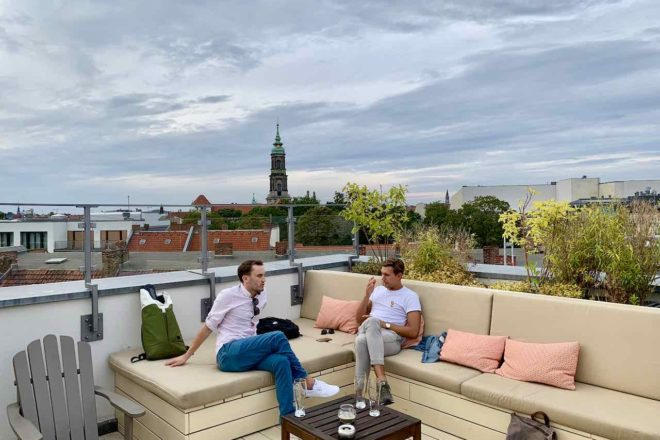 Rooftop Bar in Berlin: Monbjou Hotel