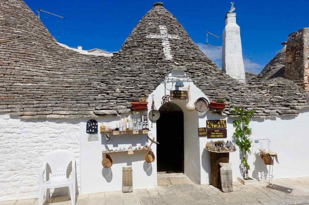 Trullo in Alberobello in Apulien