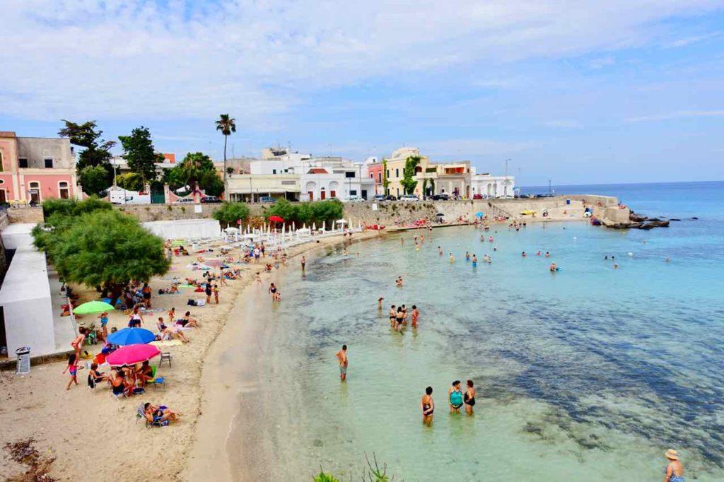Apulien Strände, Stadtstrand von Santa Maria al Bagno bei Gallipoli, Italien Copyright PetersTravel.de