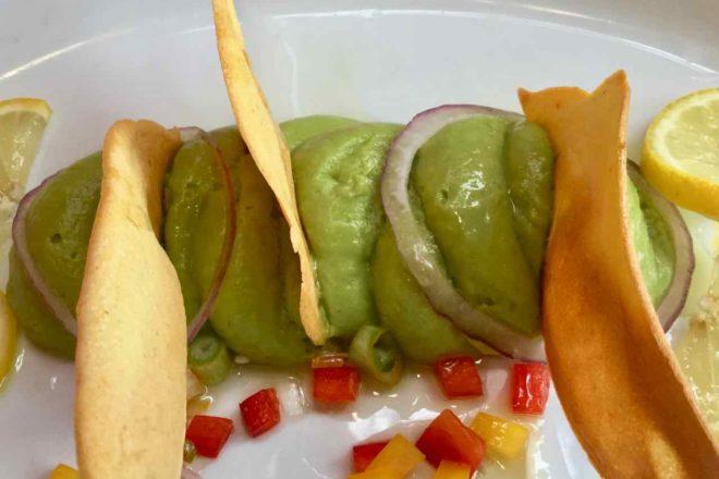 Nizza, Restaurant La Maison de Marie, Avocat en Guacamole Foto Peter Pohle PetersTravel