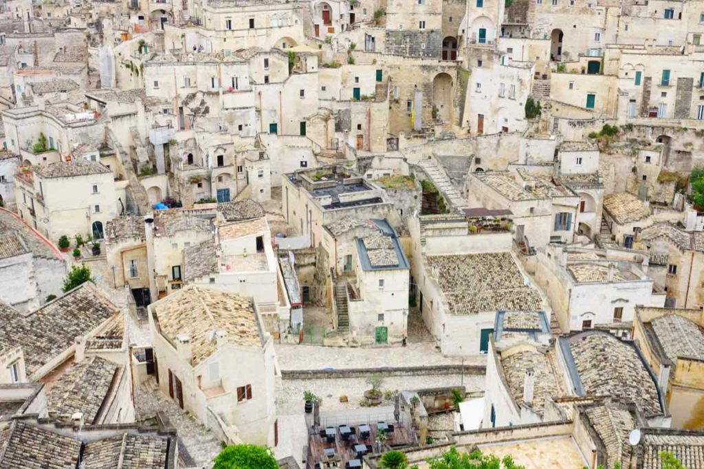 Gassenlabyrinth von Matera, Copyright Peter Pohle PetersTravel.de