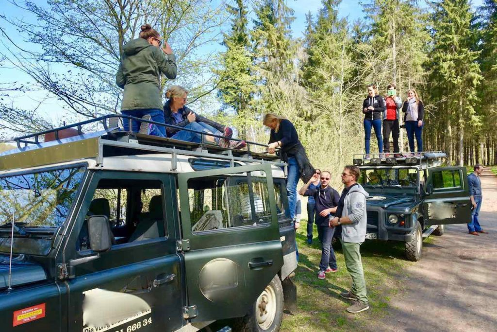 Usedom, Insel-Safari mit Landrovern