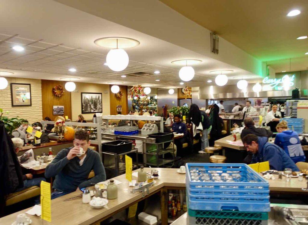 Chicago Restaurant: Lou Mitchell's ist ein klassischer Diner und eine Institution