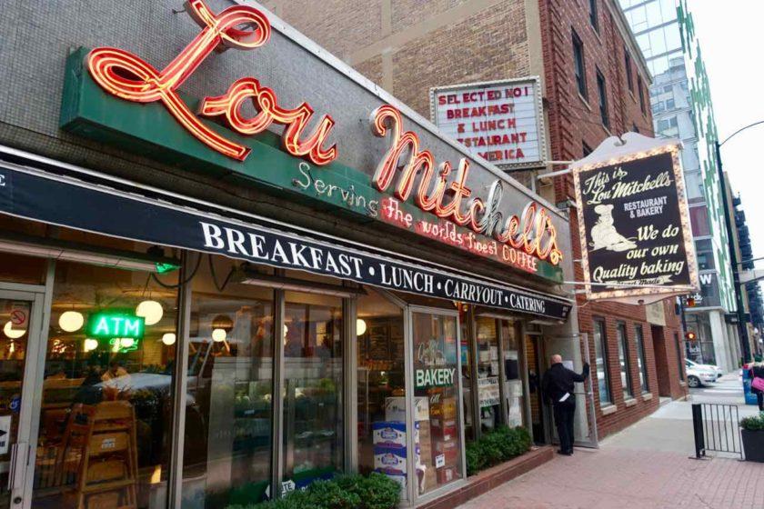 Chicago Restaurants: Ein klassischer Diner ist das Lou Mitchell's