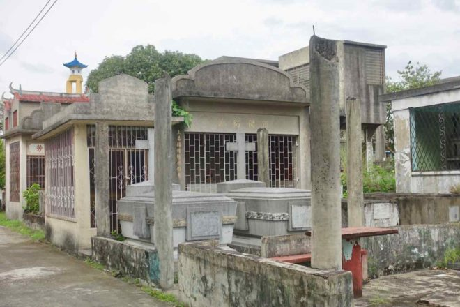 Manila Grabmal im Chinese Cemetary