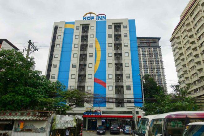 Manila Hotels: Hop Inn Hotel, außen