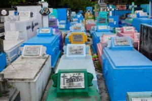 Manila Nordfriedhof, Grabstätten