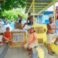 Nordfriedhof von Manila,Zuschauer beim Basketball