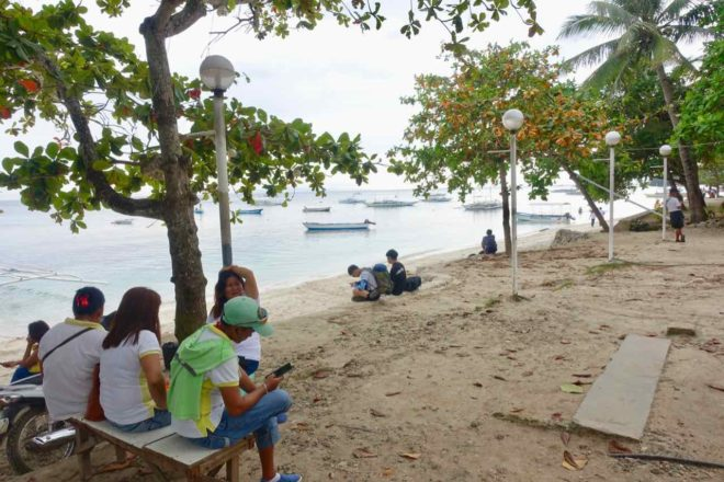 "Alona Beach Panglao: ""Strandidyll"" Foto Peter Pohle PetersTravel"