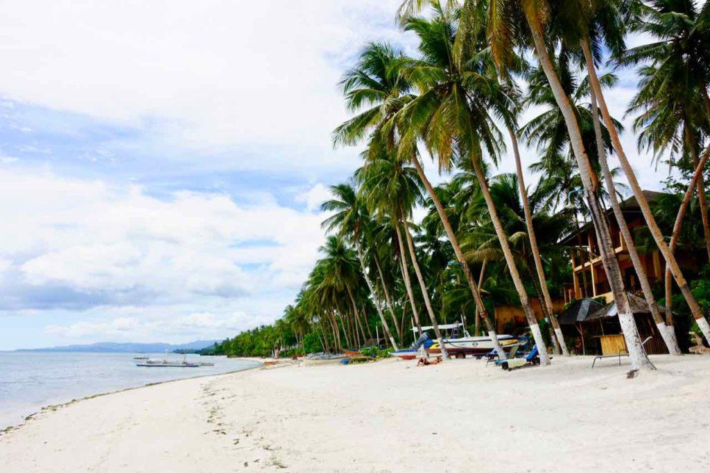 Anda Bohol, Strand vom Anda White Beach Resort, Philippinen Foto Peter Pohle PetersTravel