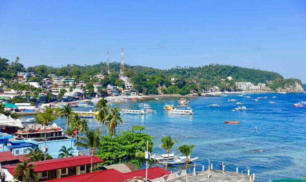 Puerto Galera: Blick vom Oriental Sabang Hill Resort, Copyright Peter Pohle PetersTravel