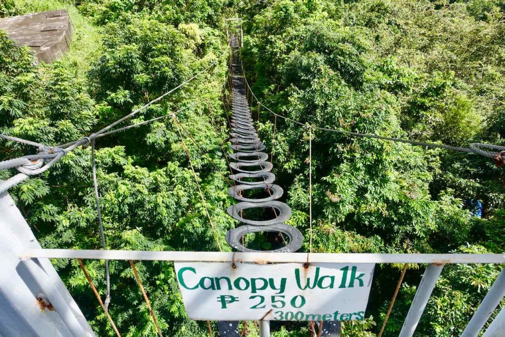 Puerto Galera, Canopy Walk, Copyright PetersTravel