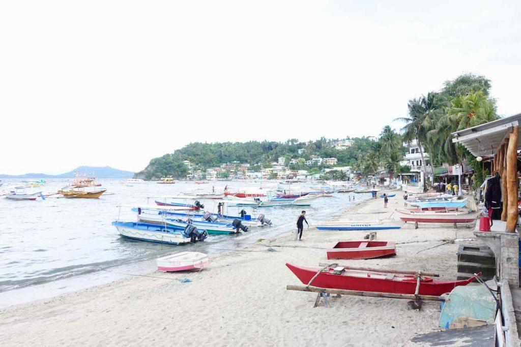 Puerto Galera, Sabang Beach ist suboptimal Copyright Peter Pohle PetersTravel