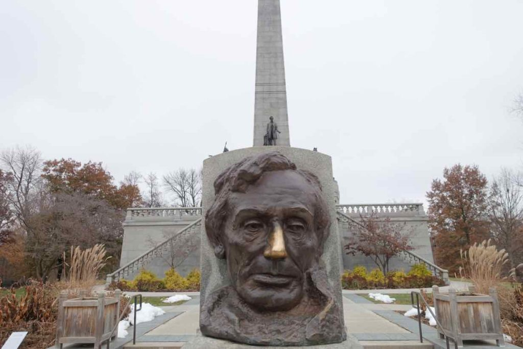 Springfield Illinois, Abraham Lincoln Grabmal, Foto Peter Pohle PetersTravel