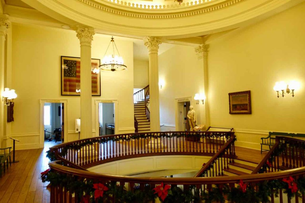 Springfield Illinois: Old State Capitol, Innen, Foto Peter Pohle PetersTravel
