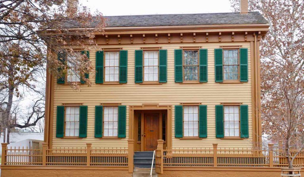 Springfield Illinois, Wohnhaus von Abraham Lincoln, Foto Peter Pohle PetersTravel