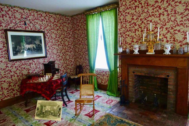 Springfield Illinois: Wohnzimmer im Haus von Abraham Lincoln, Foto Peter Pohle PetersTravel