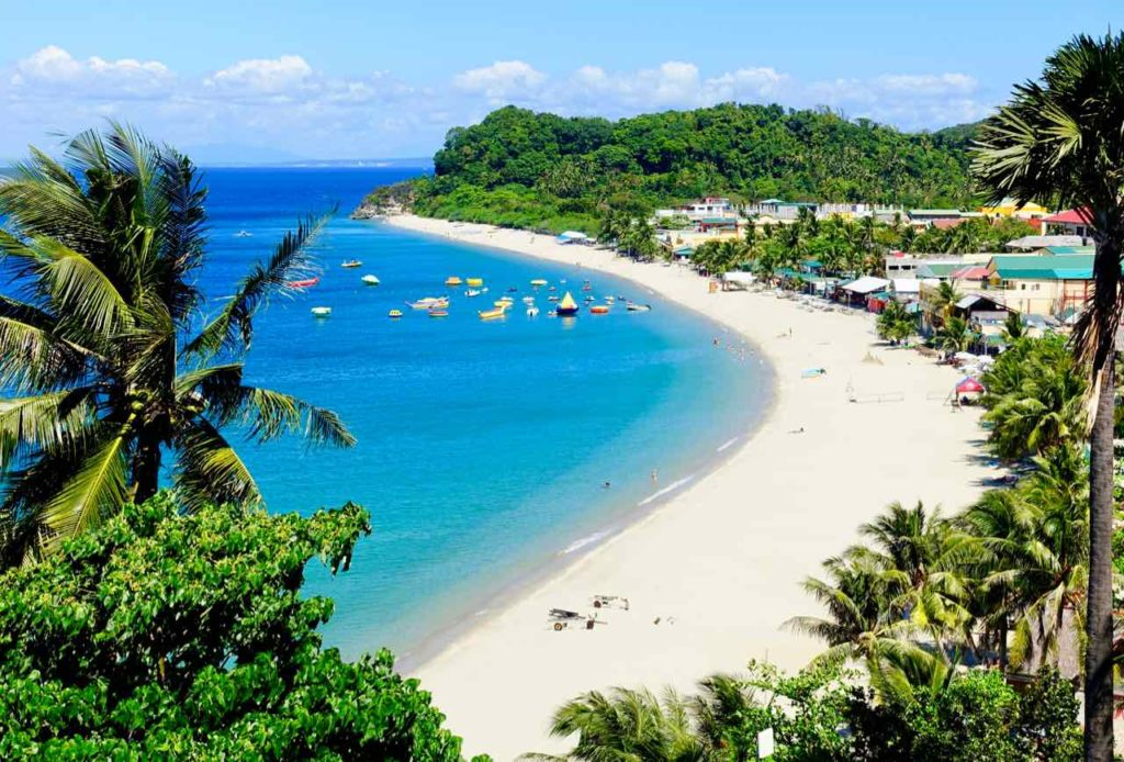 Puerto Galera auf Mindoro: White Beach, Philippinen Copyright Peter Pohle PetersTravel