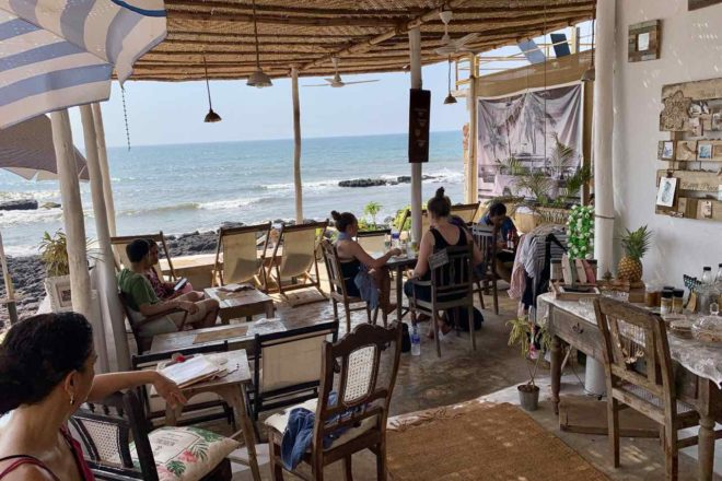 Anjuna Beach, Eva Café, Copyright Peter Pohle PetersTravel