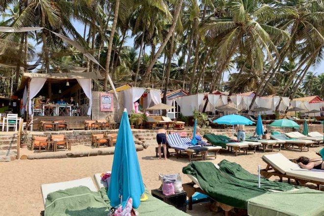 Art Resort im Süden der Palolem Beach, Goa, Copyright Peter Pohle PetersTravel