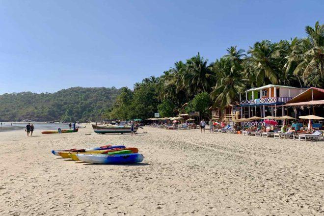 Im Norden von Palolem Beach, Goa, Copyright Peter Pohle PetersTravel