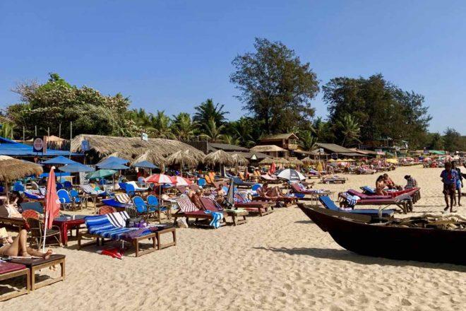 Patnem Beach im Süden von Goa, Copyright Peter Pohle PetersTravel