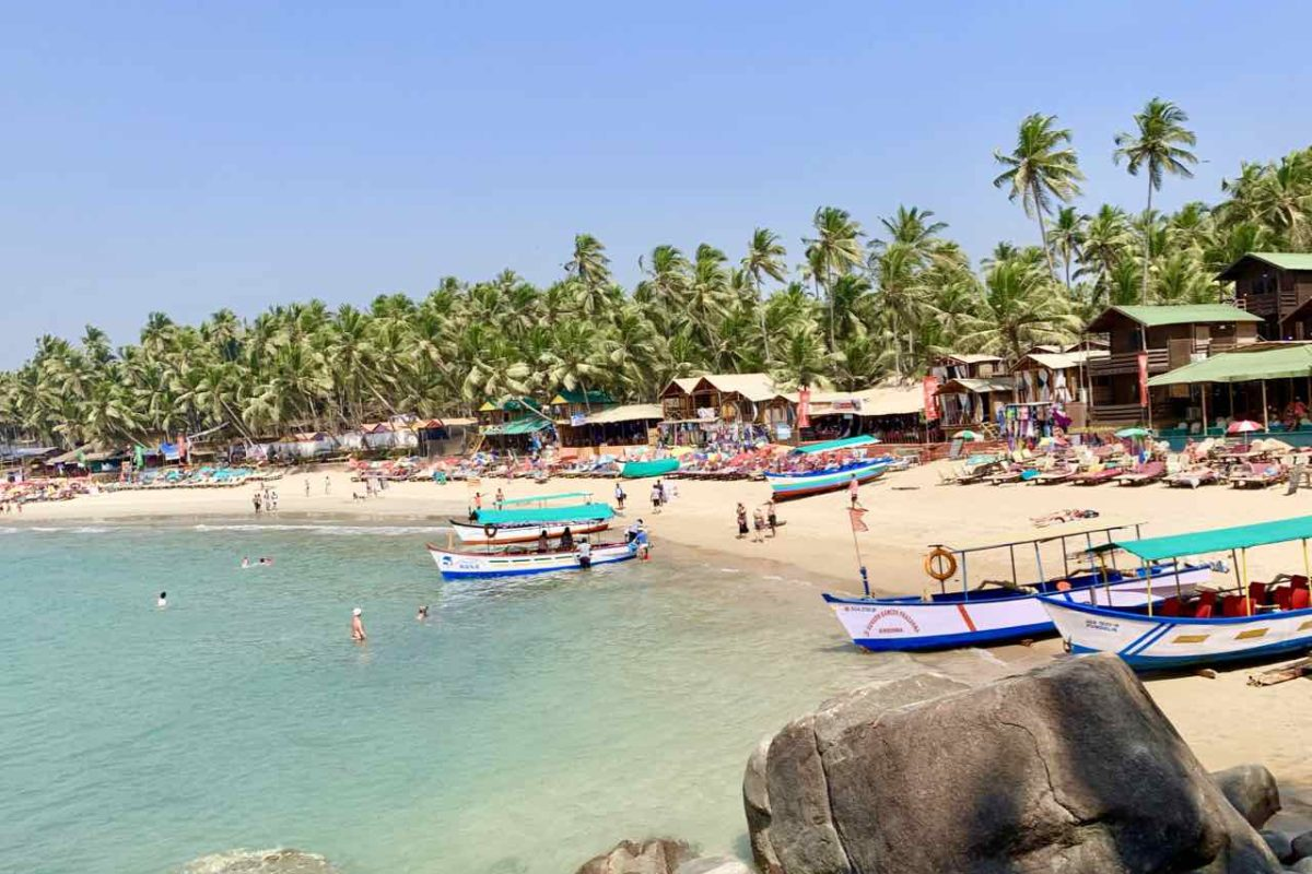 Südende vom Palolem Beach, Goa, Copyright Peter Pohle PetersTravel