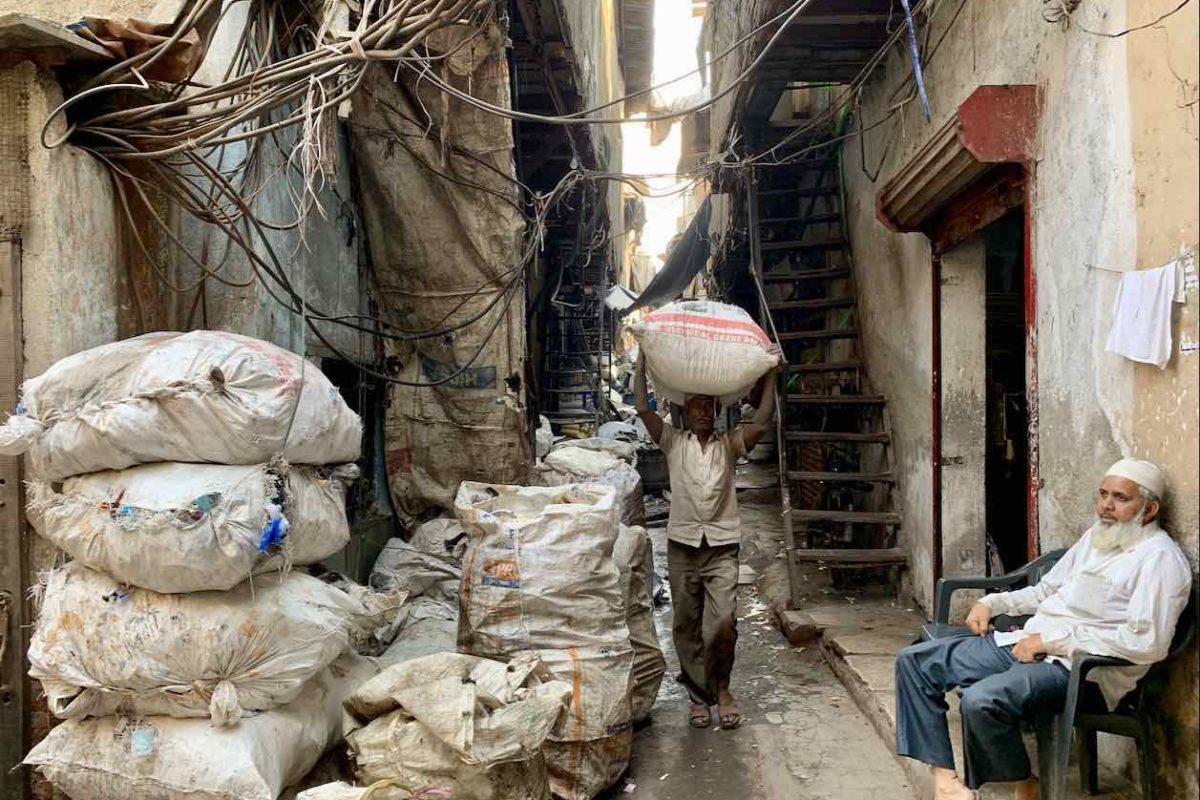 Dharavi Slum in Mumbai, Indien Copyright Peter Pohle PetersTravel