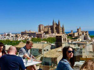 Palma: Dachterrasse Hotel Almudaina