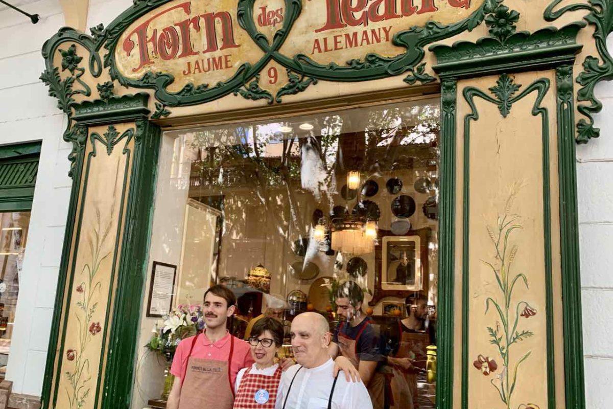 Palmas Traditionsgeschäfte: Bäckerei Forn des Teatre Copyright Peter Pohle