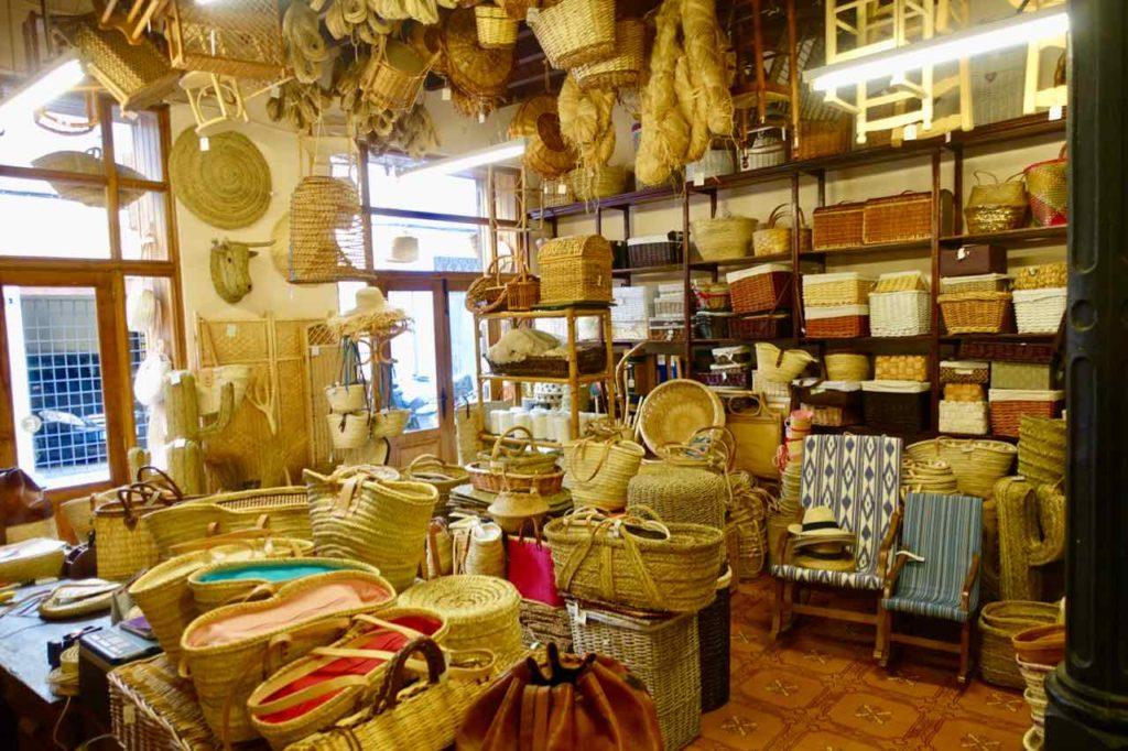 Palmas Traditionsgeschäfte: Korbflechterei Mimbreria Vidal