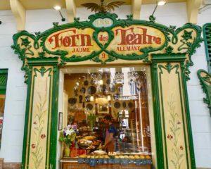 Palmas Traditionsgeschäfte: Schaufenster des Forn des Teatre