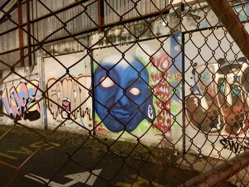 San José: Streetart im Barrio La California, Costa Rica