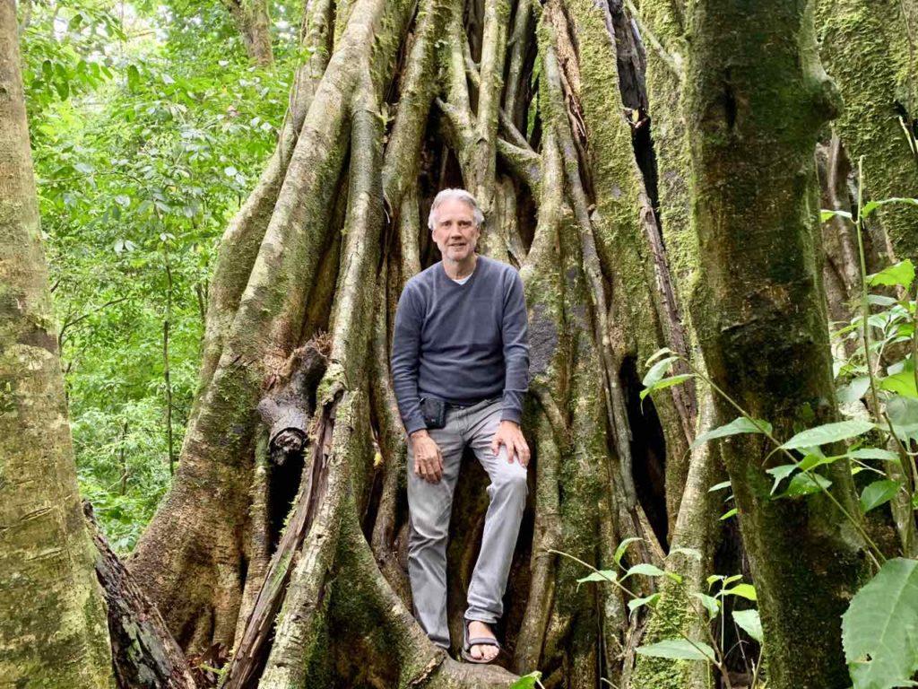 Waldbaden im Aguti Reserve in Costa Rica