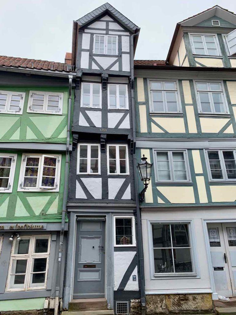 Das schmale Haus in Wolfenbüttel