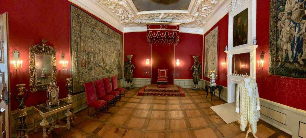 Wolfenbüttel: Audienzsaal im Herzoglichen Schloss
