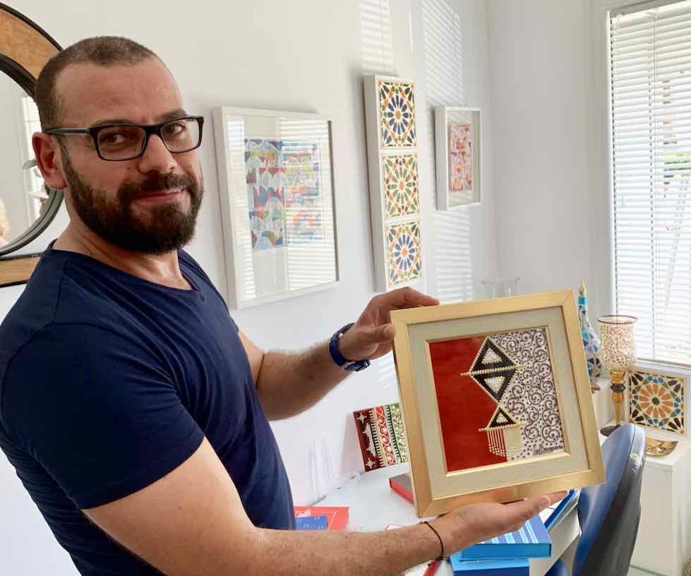 Designer Mohamed Bougamra