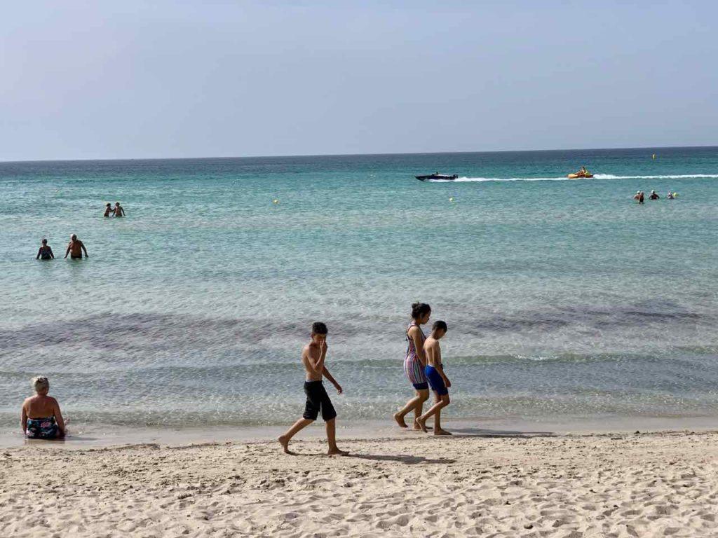 Tunesiens Norden: Monastir, Strand beim Royal Thalassa